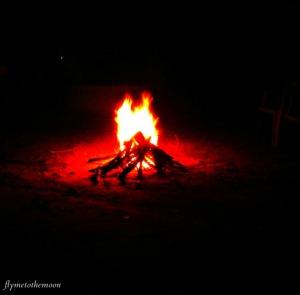 w - campfire
