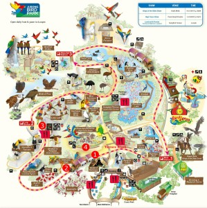 jurong-bird-park-map-morning-route